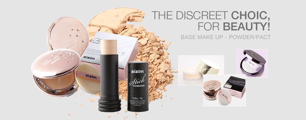 THE DIISCREET CHOIC, FOR BEAUTY! BASE MAKE UP - POWDER/PACT
