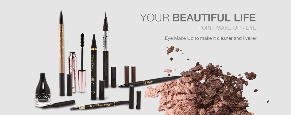 YOUR BEAUTIFUL LIFE POINT MAKE UP - EYE - Eye Make Up to make it cleaner and livelier